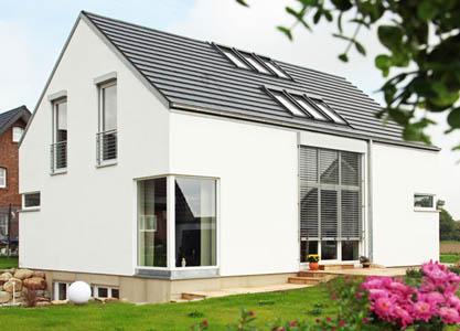 dom wykonany z betonu komórkowego termalica