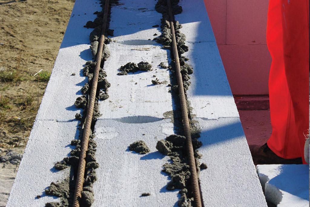 zbrojenie bloczków z betonu komórkowego