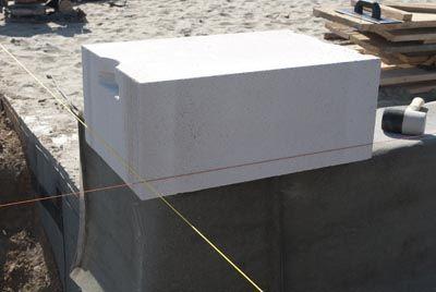 budowa z betonu komórkowego