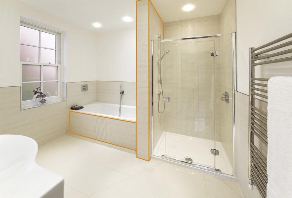 płytki do wykończenia łazienki termalica