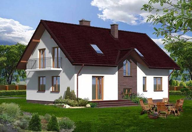 projekt domu alcamo
