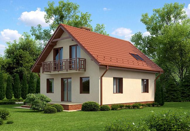 projekt domu bellino