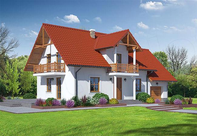 projekt domu biskupice 3tb