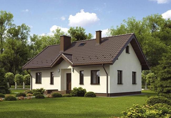 projekt domu bosco