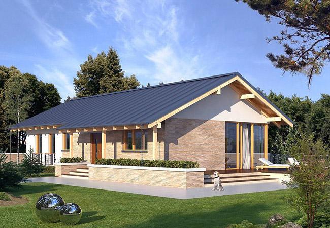 projekt domu mahon