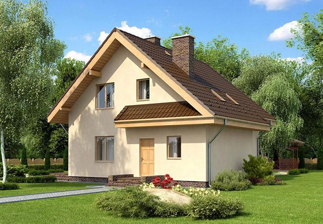 projekt domu selano