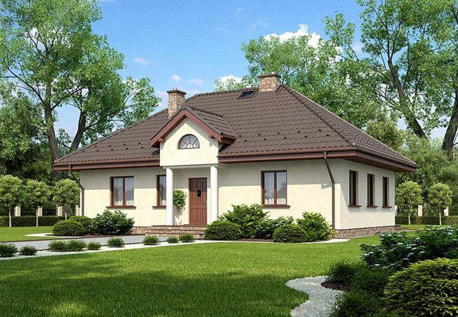 projekt domu ancona