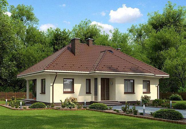 projekt domu anzio