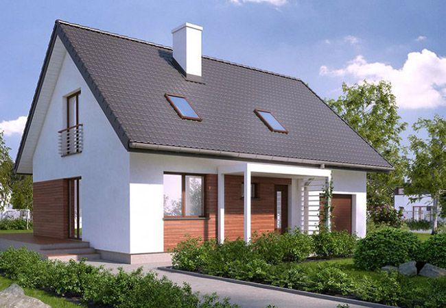 projekt domu balbinka