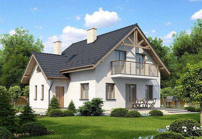projekt domu collina