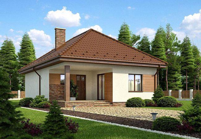 projekt domu fiano