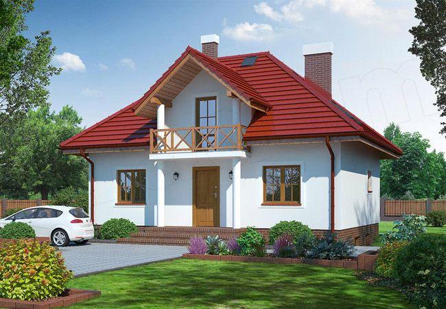 projekt domu grabczyn 2tb