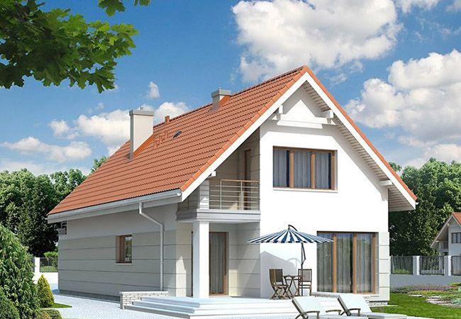 projekt domu jodła