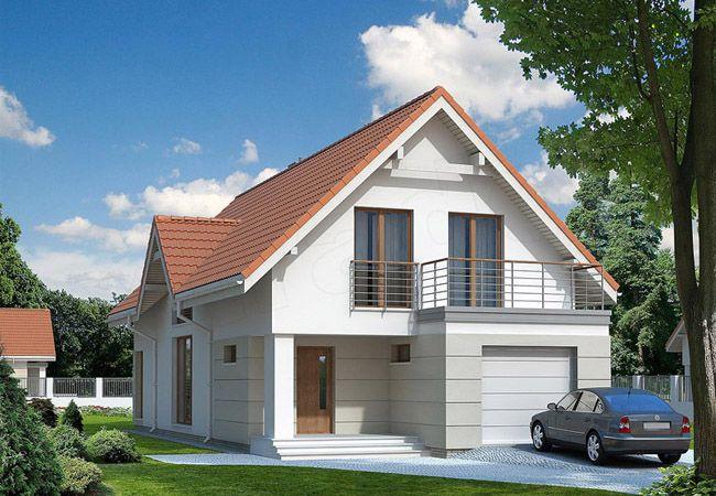 projekt domu jodla 2