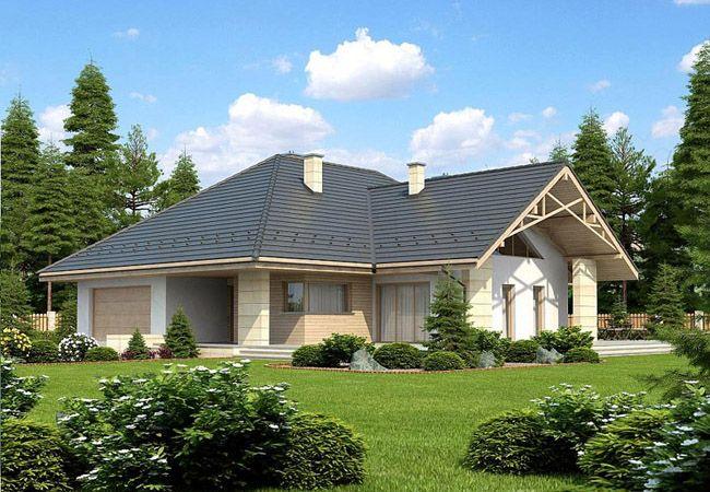 projekt domu leno III