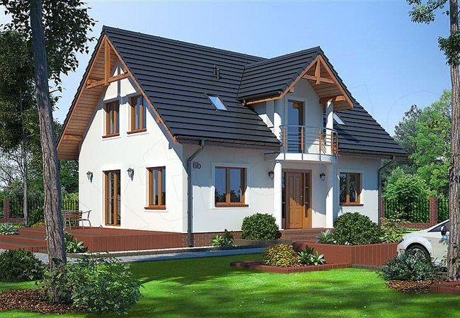 projekt domu miłosna średnia