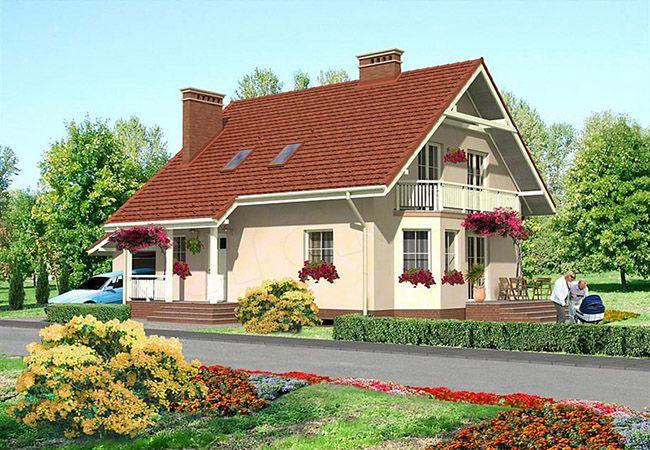 projekt domu moricone