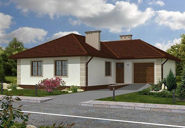 projekt domu ravello