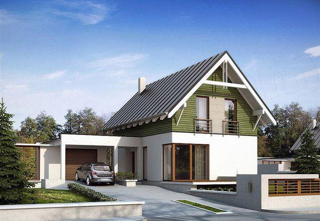 projekt domu teo