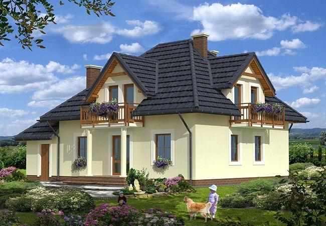 projekt domu verona