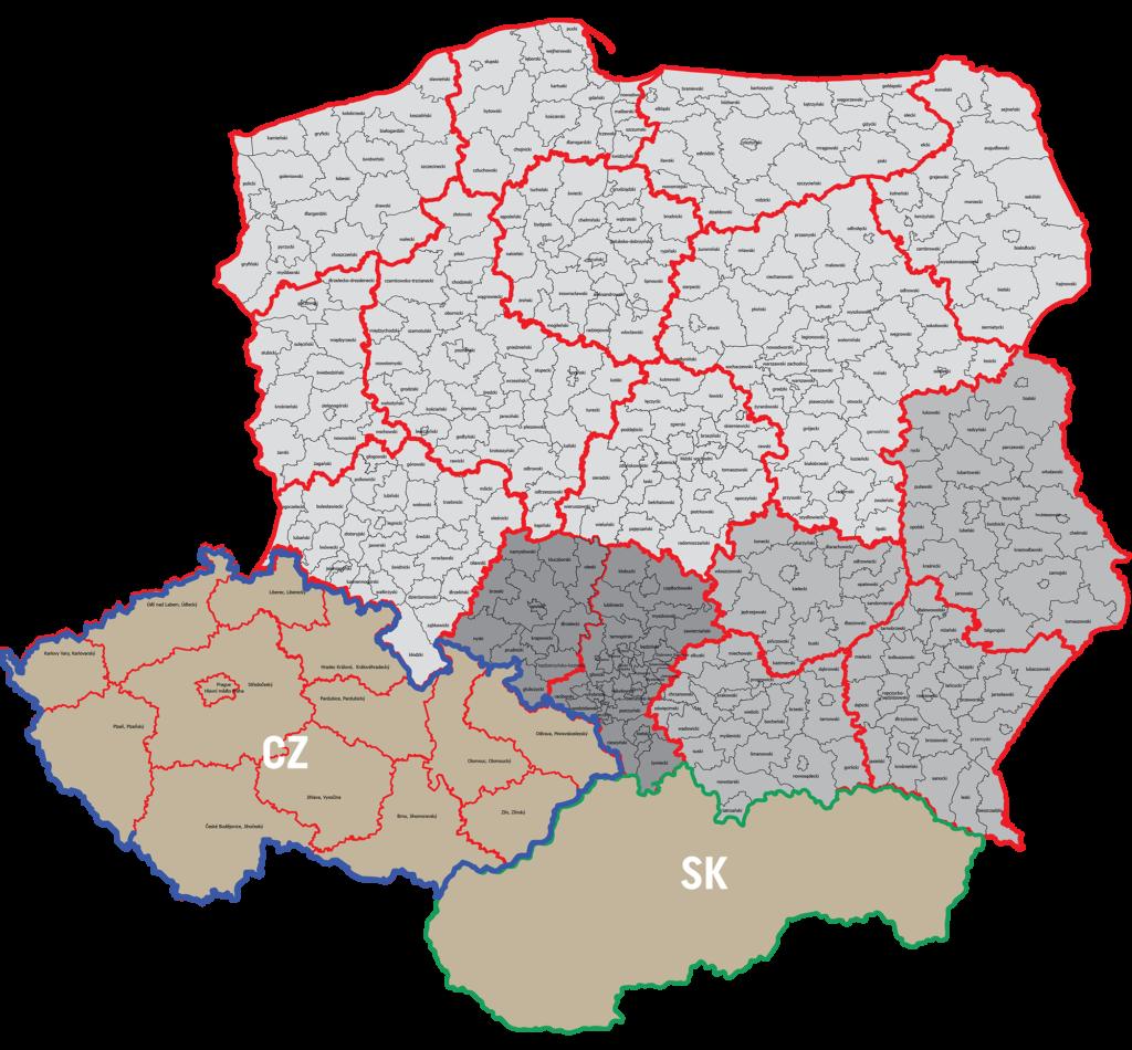 mapa termalica